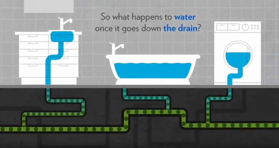 What happens to water once it leaves your home?